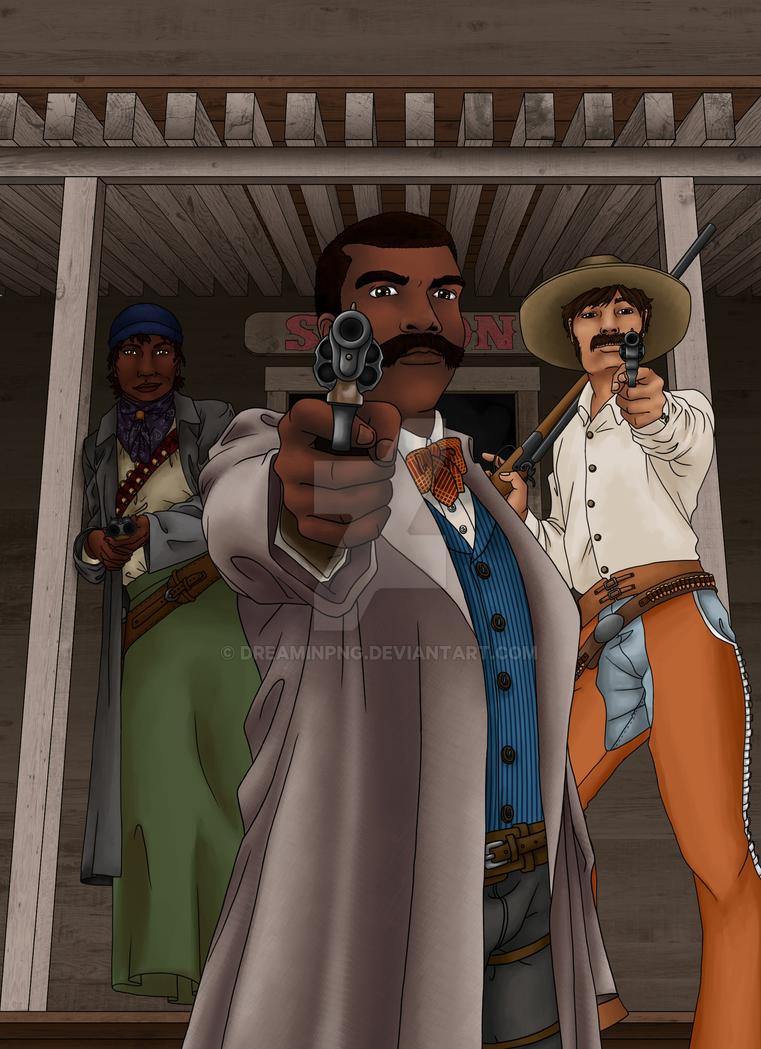 Gunslinger's Guide Cover by dreaminpng