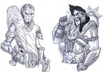 LoL Sketches 1