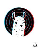 Llama look by sant2