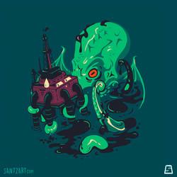Oil Spill Cthulhu