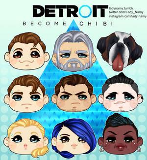 Detroit: Became CHIBI!
