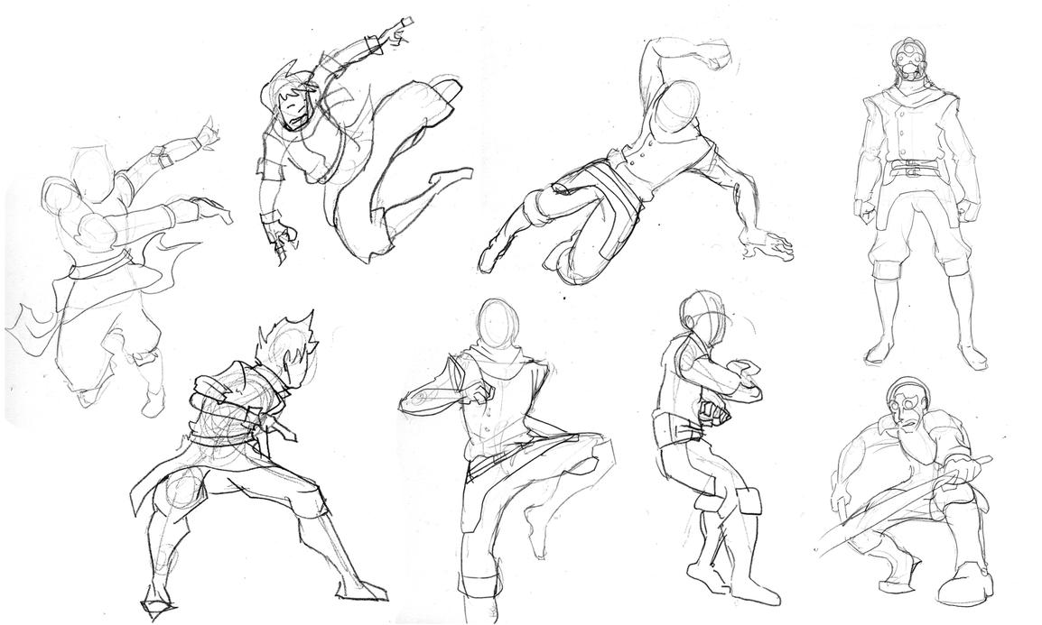 Sketch Body By Dest-42 On DeviantArt