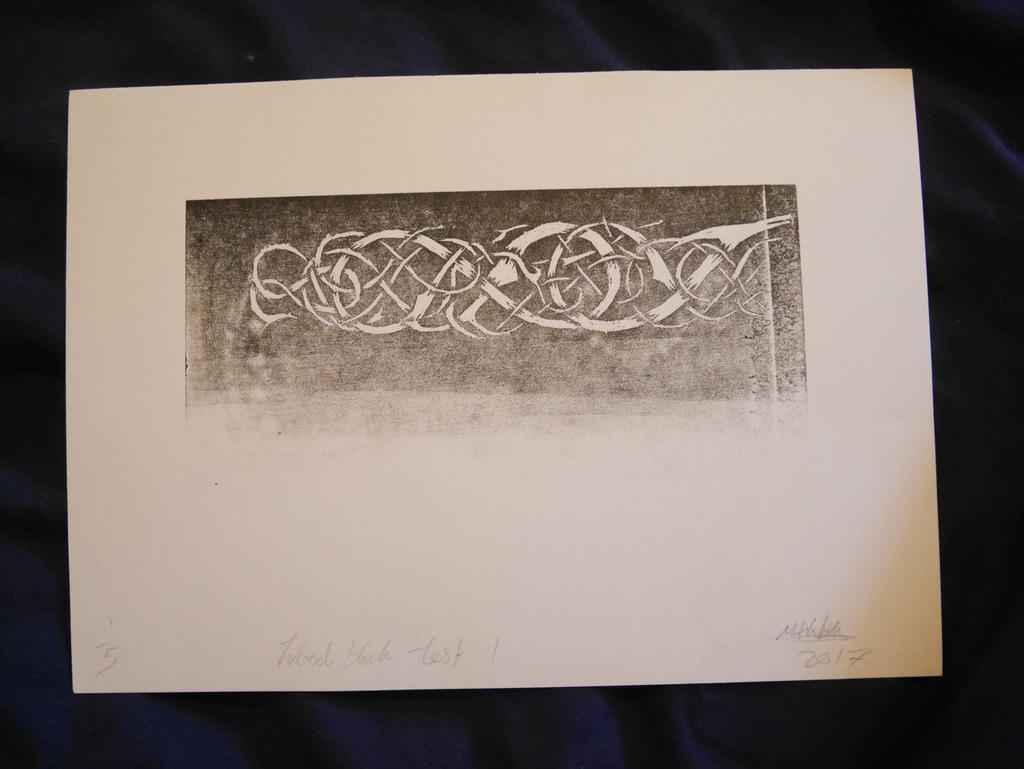 Norse knotwork print by sioastr-valdr