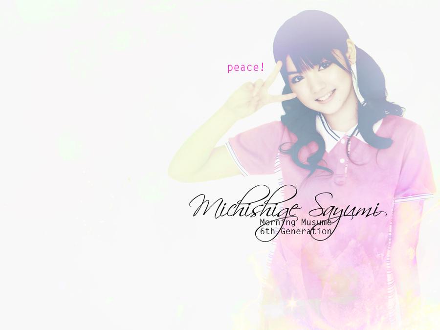 Michishige Sayumi by nanomeow