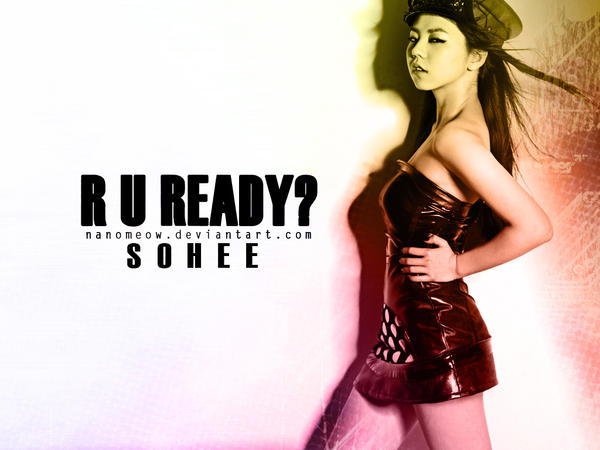 R U Ready? 2ND Sohee by nanomeow