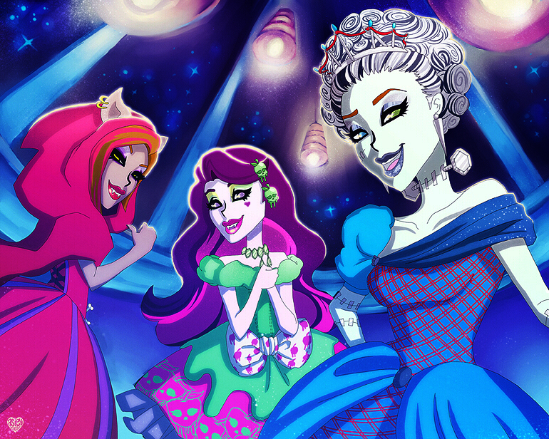 Monster High: Scary Tales. by asieybarbie