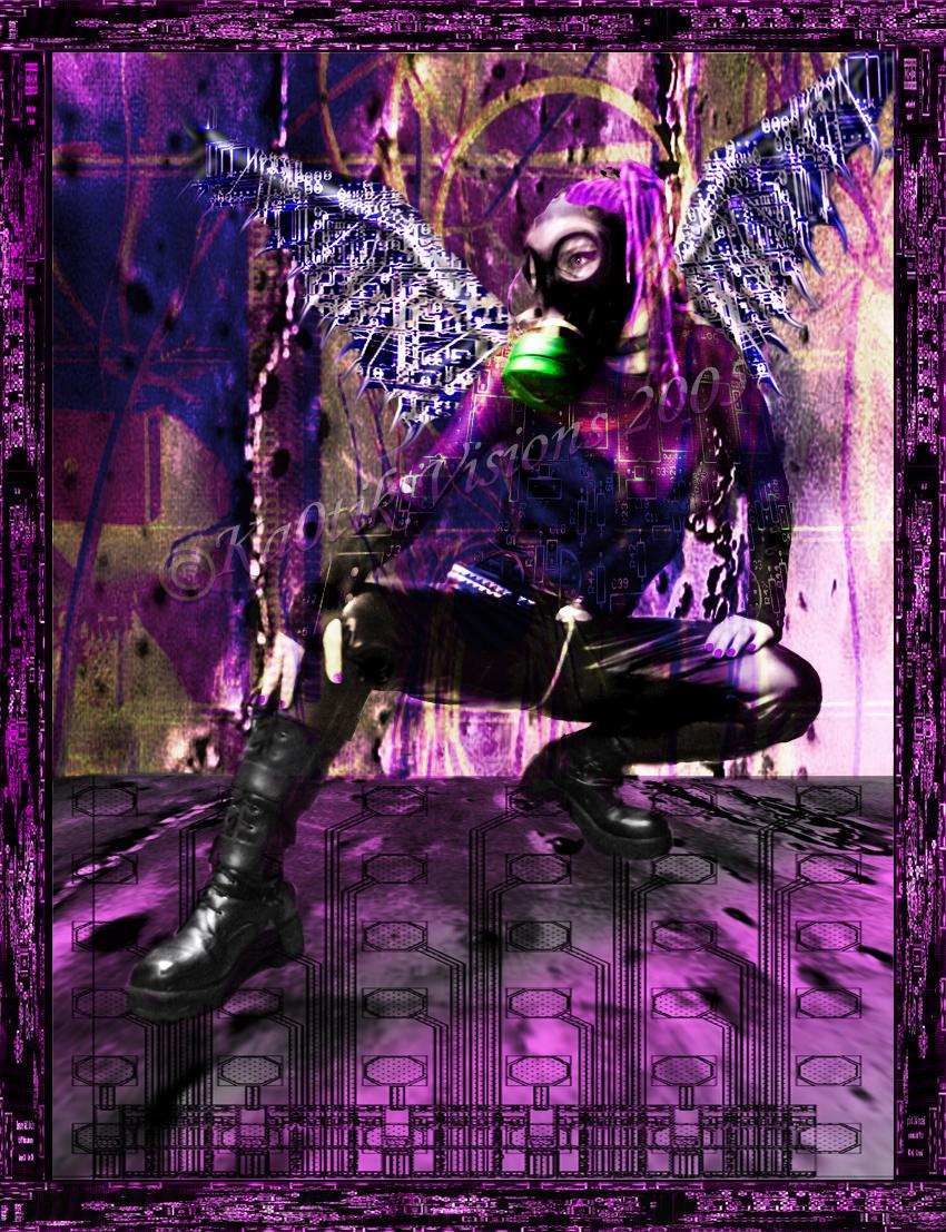 Cyber Angel by LadyDagger