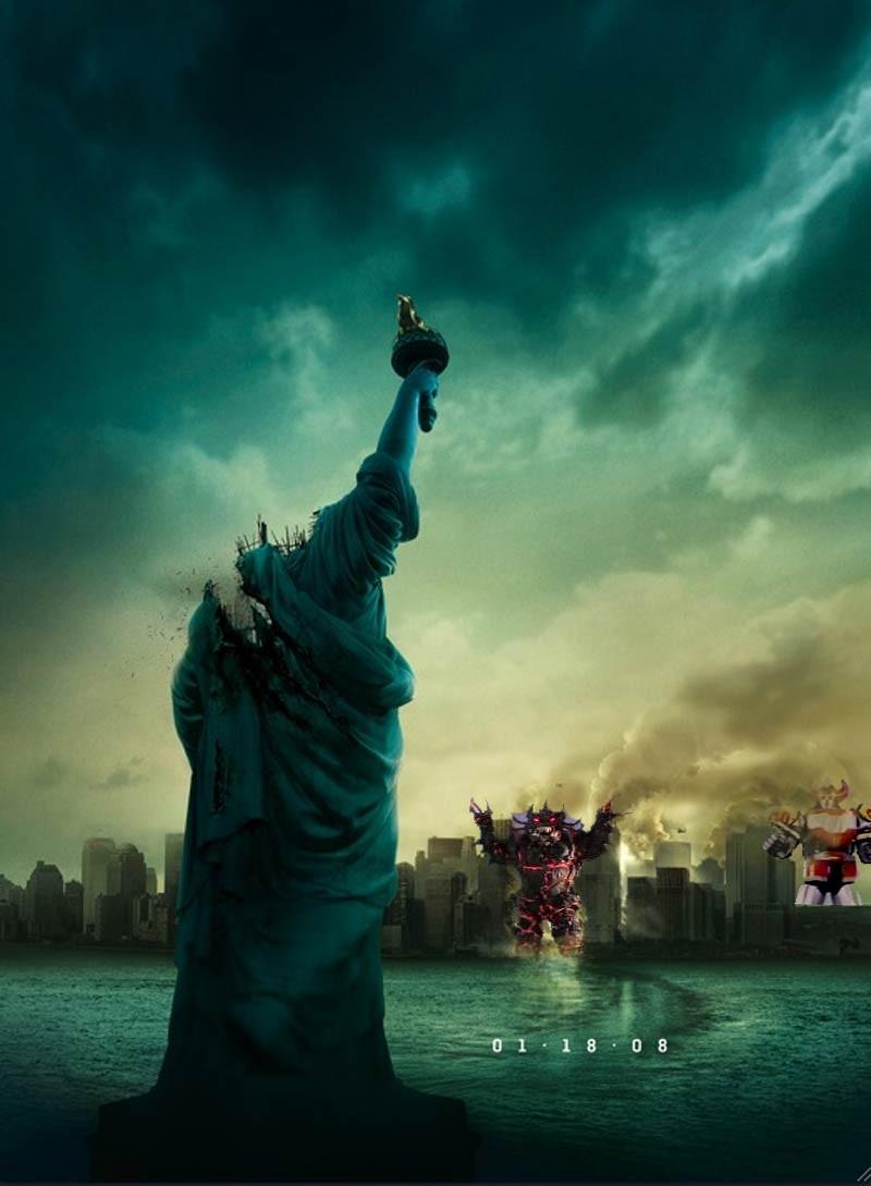 Cloverfield Monster Poster by Lupin-da-3rd on DeviantArt