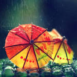 colours of rain by Orwald