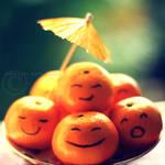 mandarins smile