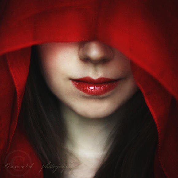 lady in red by Orwald