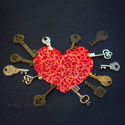 I have no key to your heart