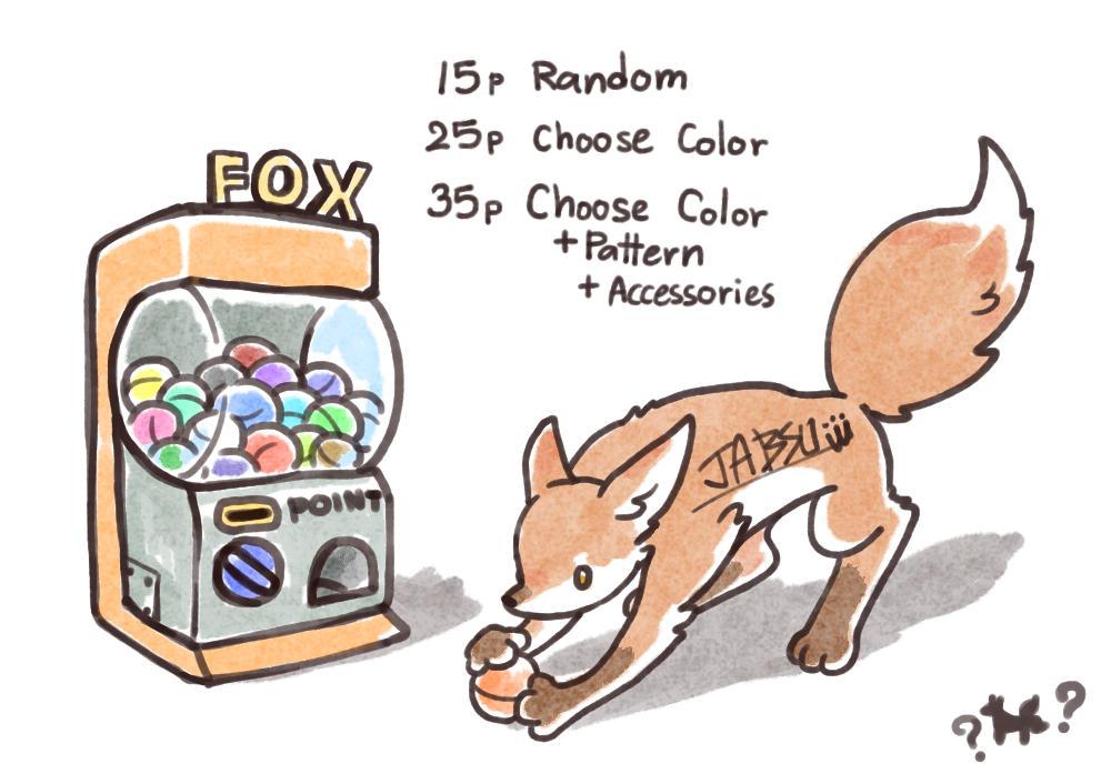 [Open] Fox Gachapon