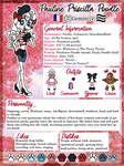 Reference sheet: Pauline the Poodle