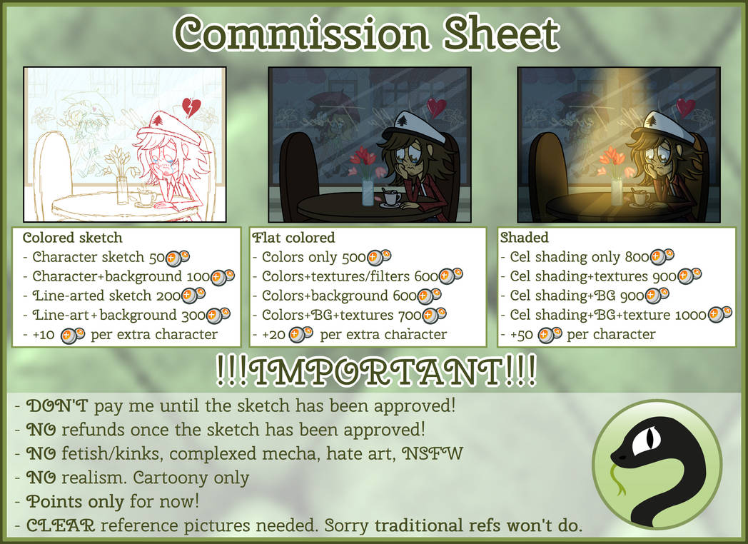 Commission Sheet (CLOSED)