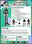 Reference sheet: Raimond the Poodle