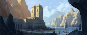 fortress by MichalDomanski
