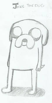Jake the Dog - Rough Sketch