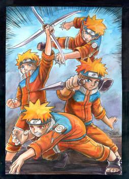 Naruto Kage Bushin