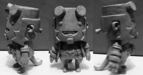 Hellboy Toy final by renatothally