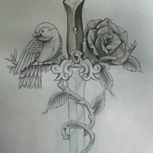 blade rose