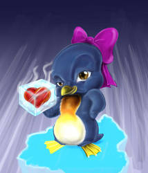 pinguim by renatothally