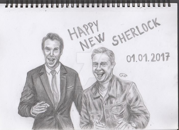 Happy New Sherlock! by CryssieMarsters