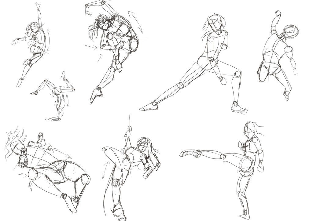 023 Male Action Pose — Characterdesigns.com