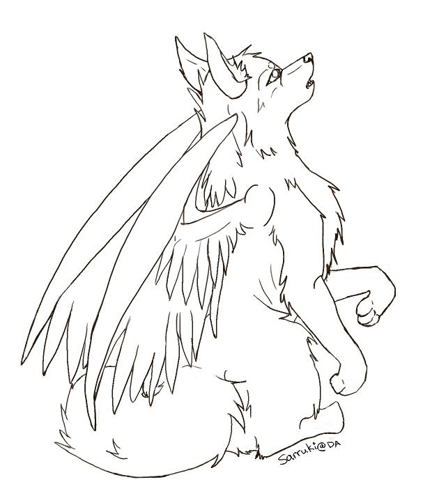 Winged Wolf Base