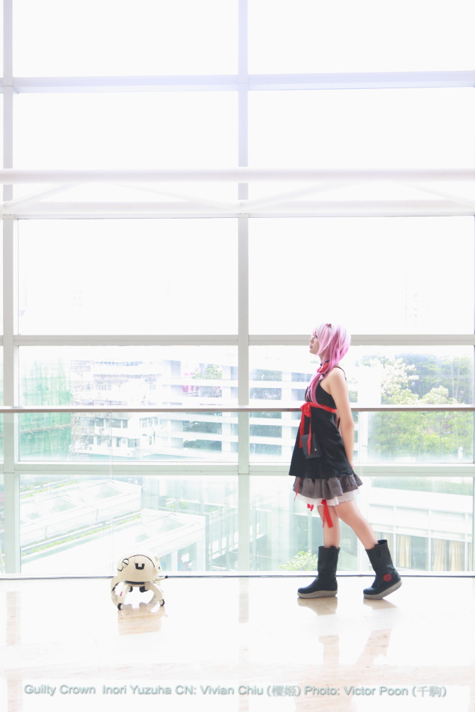 Guilty Crown Inori Yuzuriha Cosplay 07 (Walk) by multipack223
