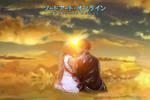 Asuna and Kirito in Sword Art Online (2)