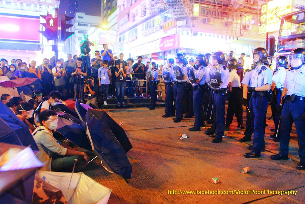 Hong Kong Mong Kok umbrella revolution (253816) by multipack223