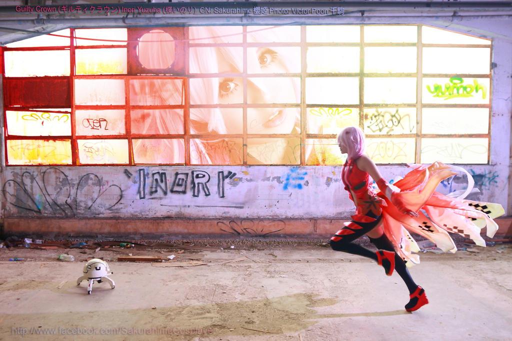 Running Inori by multipack223