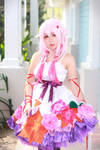 Inori with White flower dress 01