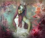 Pink Mask by Neitin