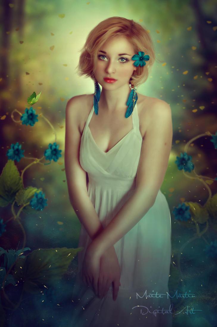 Blue Fantasy by Neitin