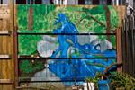 Newaygo fence mural 2010