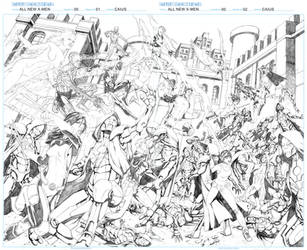 Caius Schereiner All new X-men Sample 01 02 by caiusart