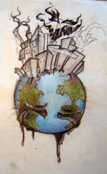 polution by MonkeyRobotics