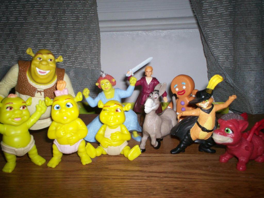 Mcdonalds Shrek Toys 8