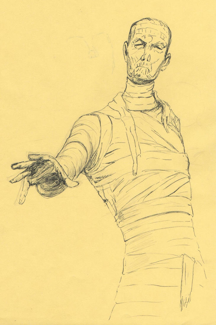 The Mummy by elfranco