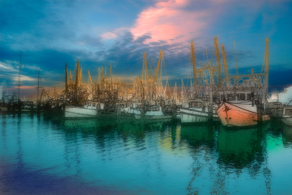 Harbor Calm by JoeCorreia
