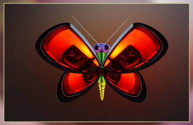 Techno buterfly