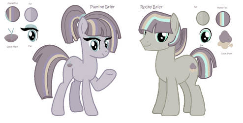 Maud Briar Twins Reference Sheet