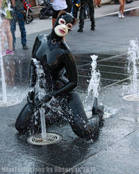 MissFetilicious at the Fountain I by Observer31