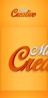 CreativeMod Psd Text Effect by CreativeCrunk