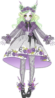 Adoptable - Shironuri Lolita - [test 2]