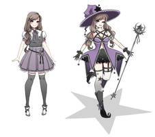 bewitch - Purple Witch by kyaterina