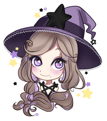 Bewitch - Purple chibi