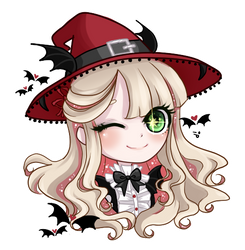 Bewitch - Red Chibi
